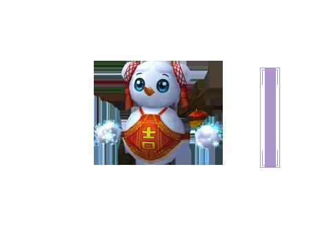"""《诛仙3》""""决战青云""""萌宠:圣诞雪人"""